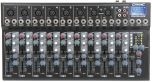 Citronic CM10 Live Compact Mixer USB Delay FX 6 x Mic Input