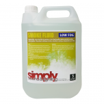 Simply Sound & Lighting High Quality Low Smoke Fluid (5L)
