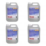 4x Simply Sound & Lighting High Quality Snow Fluid (5L)