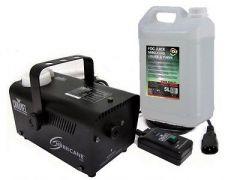 Chauvet DJ Hurricane 700 inc. Remote and 5L Fluid