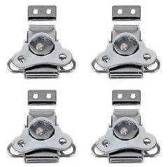 4x DAP Small Butterfly Lock (Silver)