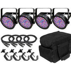 Chauvet DJ SlimPar 56 inc. Cables, Carry Bag & Clamps