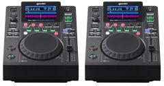 2x Gemini MDJ-500 Professional DJ Turntable