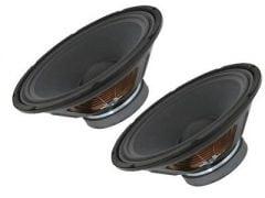 """2x QTX 12"""" Replacement 400w Speaker Cones"""