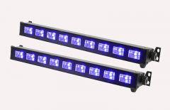 2x QTX UVB-9 Ultraviolet LED Bar