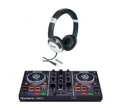 Numark PartyMix DJ Controller inc. HF125 Headphones