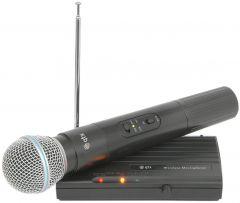 QTX VH45B VHF Wireless Microphone Handheld Radio 174.50 Compact DJ Disco Karaoke