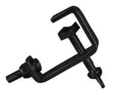 Eurolite Black 25mm Hook Clamp
