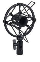 Slim Anti Shock Mount Microphone Cradle 22-24mm Heavy Duty Metal