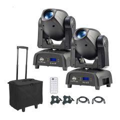 ADJ Focus Spot One 35W LED Moving Head (Bundle)