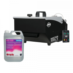 ADJ Mister Kool II Low Fog Machine inc. 5L Fluid