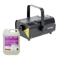 ADJ VF400 400W Smoke Machine inc. Remote & 5L Fluid