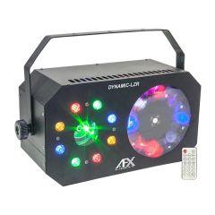 AFX Light 3-in-1 Dynamic LZR LED Light Effect