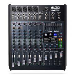 Alto Professional Live 802 Mixer FX USB 8ch *B-Stock*