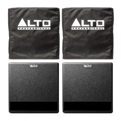 "Alto TX212S Active Subwoofer 12"" Powered Bass Bin 900W inc Covers Bundle"