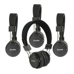 4x AV:Link Children's Headphones with in-line Microphone