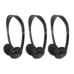 3x AV:Link SH30T Stereo TV Headphones