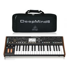 Behringer Deepmind 6 True Analog 6-Voice Polyphonic Synthesizer inc Bag