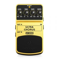 Behringer UC200 Ultimate Stereo Chorus Effects Pedal Guitar
