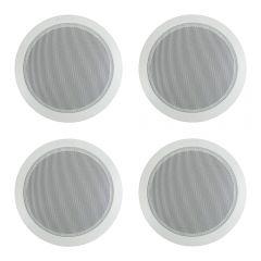 """4x Bosch 6"""" 100V Ceiling Speaker (White)"""