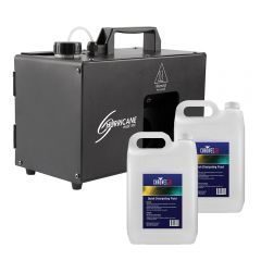 Chauvet DJ Hurricane 1DX Haze Machine inc. 10L Fluid