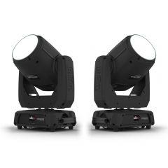 2x Chauvet DJ Intimidator Beam 355 IRC LED Moving Head 100W