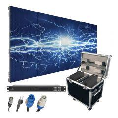 Chauvet DJ Vivid Video Wall 4 x 4 Video Screen inc Video Driver & Flightcase
