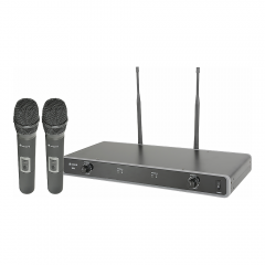 Chord Dual UHF Wireless Handheld Microphone System (863.3MHz + 864.3MHz)