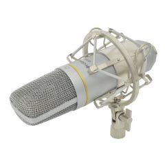 Citronic CCU2 Cardiod USB Studio Condenser Microphone for Recording Computer