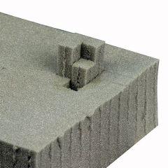 DAP Universal Flightcase Foam Sheet 1.2m x 0.6m 10cm Thickness