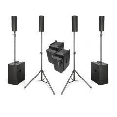 2x dB Technologies ES 1203 High Power Array System 2400W Speaker inc Covers