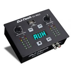 DJ Tech Rec MKII Portable Recording Solution with USB, BT and MP3