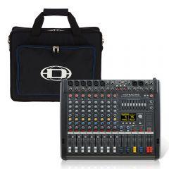 Dynacord PowerMate 600-3 8CH Powered Mixer Mixing Desk 2000W FX USB inc Bag