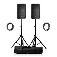 "Electro-Voice ELX200-10P Active 10"" PA Speaker Package"