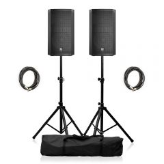 "Electro-Voice ELX200-12P Active 12"" PA Speaker Package"