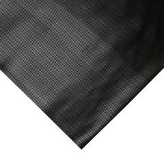 elumen8 3mm Rubber Matting, 10m x 1.2m Roll Fluted Cable Cover Stage Theatre
