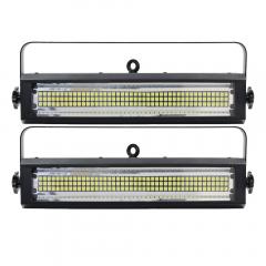 2x Equinox Blitzer II LED Strobe and DMX Cable