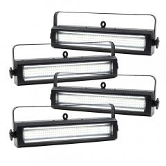 4x Equinox Blitzer II LED Strobe and DMX Cables
