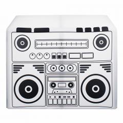 Equinox DJ Booth Boom Box Design Lycra Cover Scrim