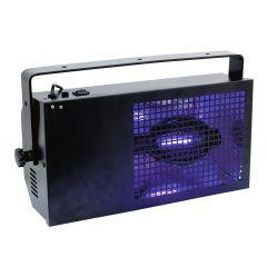 Eurolite 400W Black Floodlight Flood Wash UV Ultraviolet Party Neon Rave Cage