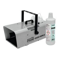 Eurolite Foam 1500 MK2 Powerful Foam Machine inc Fluid Party Club