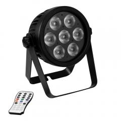Eurolite LED 7C-7 Silent Slim Spot Par Uplighter RGBA/CW/WW/UV