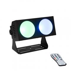 Eurolite LED CBB-2 COB RGB Bar Flood 2 x 30W COB LED inc Remote Lighting