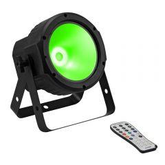 Eurolite LED SLS-30 COB RGBW Floor Par Can DMX Uplighter inc Remote