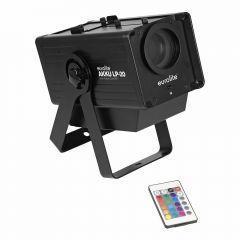 Eurolite LP-20 Battery Powered Wireless LED Gobo Projector inc. Wireless Remote
