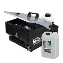Eurolite NB-60 Mister Kool Low Smoke Machine Bundle