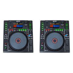 2x Gemini MDJ-900 Professional DJ Turntable