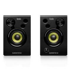 Hercules DJMonitor 32 Speaker Pair DJ Studio Recording Sound System 60W