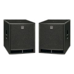 "2 x HK Audio Premium PRO18 Passive 1 x 18"" Subwoofer 2000W DJ Disco PA"