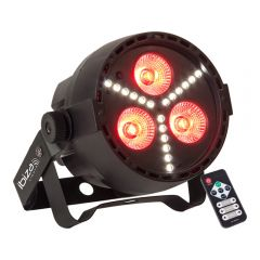 Ibiza Light 4-in-1 LED PAR Can with Strobe